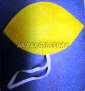 Yellow Non Woven Face Mask