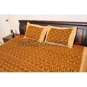 Handloom Cotton Double Bed Sheets