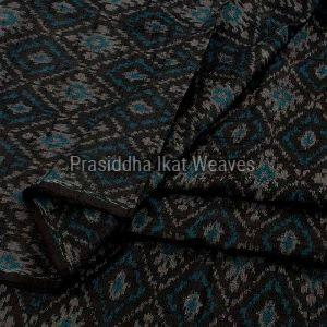 Ikat Dupion Silk Fabric