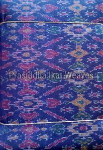 Ikat Silk Cotton Fabric