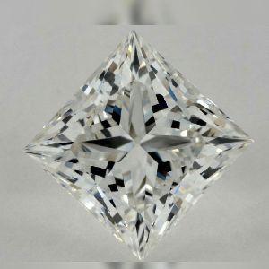 princess cut moissanite stones