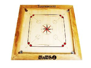 Carrom Board Tournament with Natural Border