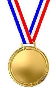 Tri Color Medal Grosgrain Ribbon