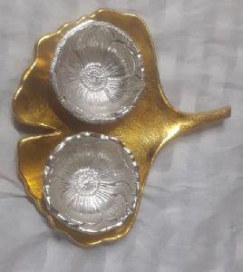 Aluminium Dry Fruit Bowl
