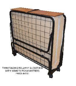 Twin Folding Rollaway Bed