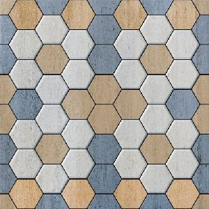 Hexagon Parking Tile