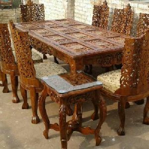 teakwood dining table