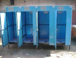 Blue Portable Biodegradable Toilet