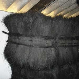 Black Dyed Coir Fibre
