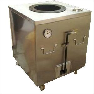 Metallic Gas Tandoor