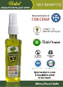 Herbal Mosquito Repellent Room Spray, Research product of CSIR-CIMAP under ministry of science and technology (Goverment of India)