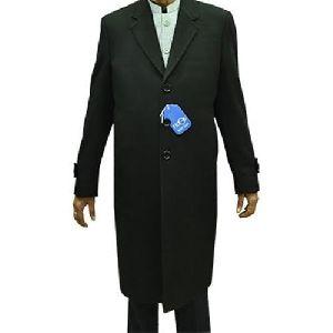 Wool Long Mens Overcoat