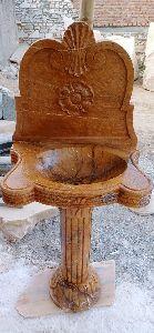 Granite Pedestal Wash Basin
