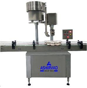 Automatic Single Head Bottle Capping Machine