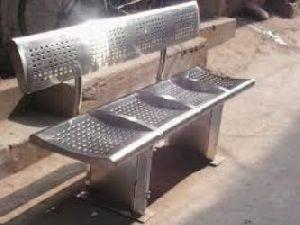 Garden Stainless Steel Bench