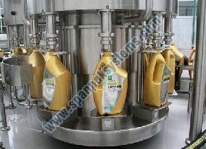 engine oil filling machine