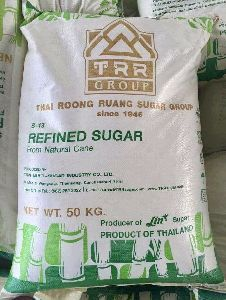 SUGAR ICUMSA 45 White (Refined) TRR brand From Thailand Origin.