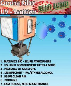 surface sanitizing machine