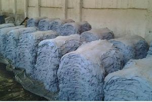 wet blue sheep skin