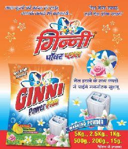 Ginni Detergent powder