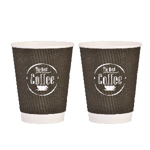 12 OZ RIPPLE PAPER CUPS
