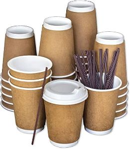 8 oz DOUBLE WALL PAPER CUPS