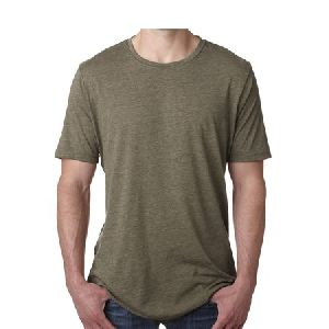 Mens Polyester Cotton T-shirt