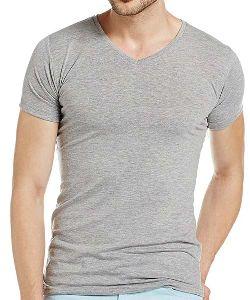 Mens Polyester Lycra T-shirt