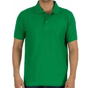 Mens Polyester Polo T-shirt