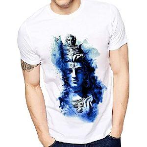 Mens Polyester Regular Fit T-shirt