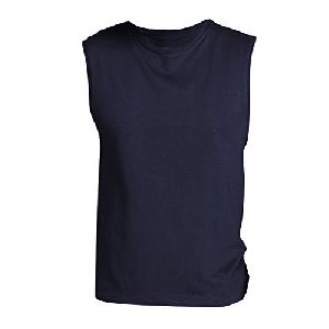 Mens Polyester Sleeveless T-shirt