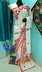 Handmade Cotton Saree