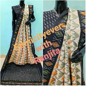 Pochampally Ikkat Cotton Saree