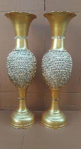 Decorative Metal Flower Pot
