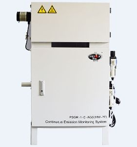 PSGM-1-D-AGS (CEMS-HW-PF) Continuous Stack Gas Emission Monitoring System