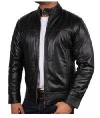 Men's Black Leather Jackets