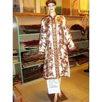 Silk Long Coat