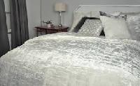 silk velvet bedspread