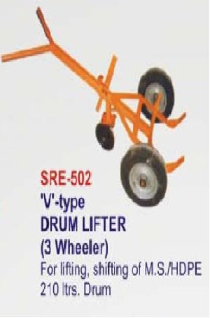 SRE-502 V TYPE DRUM LIFTER