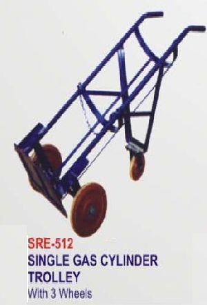 Sre-512 Single Gas Cylinder Trolley