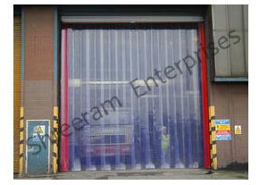Transparent Pvc Curtain/ Strip With Hanger