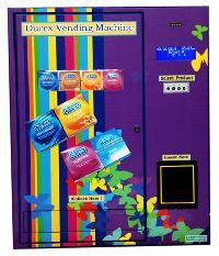 Durex Condom Vending Machine