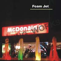 Foam Jets Fountain