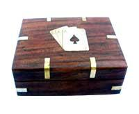 Wooden Card Box