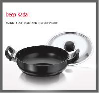Hard Anodized Deep Kadai