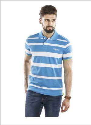 100% Cotton Slub Pique Polo Tshirt