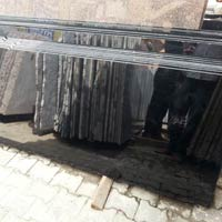 Absolute Jet Black Granite Slab