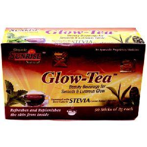 Organic Glow Tea (stevia) Formula Of Ayurved