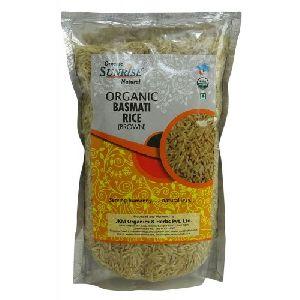 Organic Rice Brown Basmati