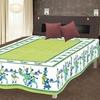 Traditional Cotton Single Bed Sheet